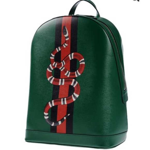 f828a1642464 🎈SOLD Gucci Green Backpack